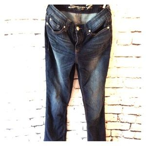 Seven 7 high rise slim boot cut jeans, size 29